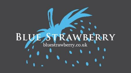 Blue Strawberry Logo